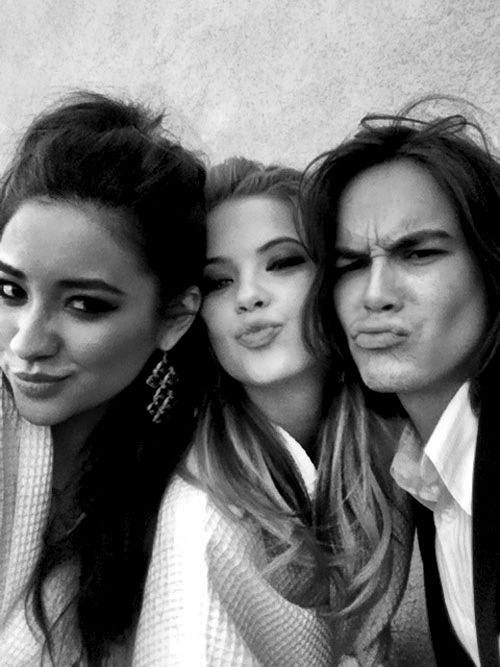 ashley benson, pretty little liars, shay mitchell, tyler - image ...