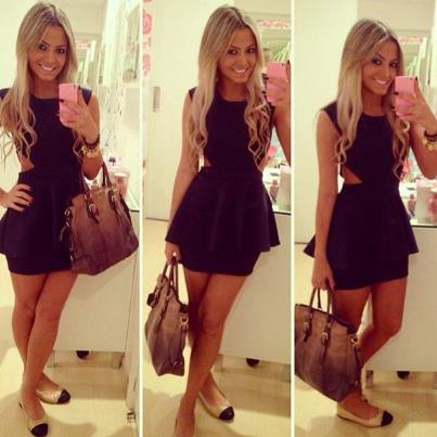 bags, blonde, dresses, fashion, iphone, outfit, style