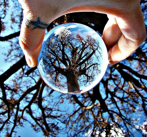 how to use a glass ball in photography