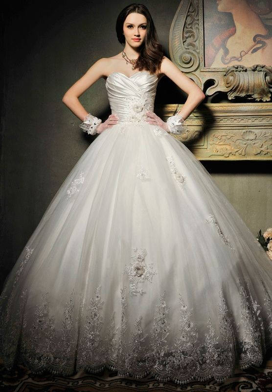 ball gown, beach wedding dresses, beautiful and beauty