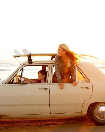 Image result for friends driving down the beach