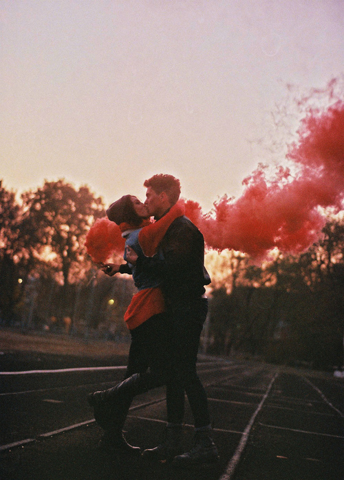 beautiful, boy, couple, girl, hipster, kiss, love, man, pretty, style