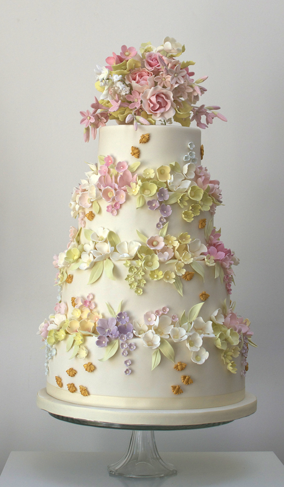 Beautiful Cake Cake With Flowers Pretty Cake Wedding Image 720407 On Fa