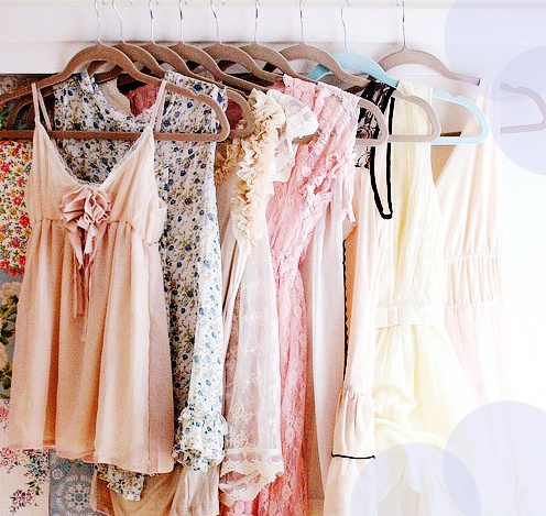 beautiful, closet, clothes, coral, date, dress, dresses, floral, flowers, girly, lace, lacy, love, lovely, pastel, pattern, peachy, pretty, print, romantic, soft, spring, vintage