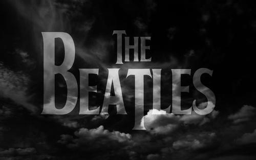 Black And White Cloud Sky The Beatles