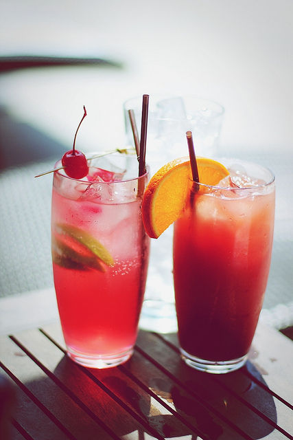 Cocktails, cherry, cute, decafisforfuckers