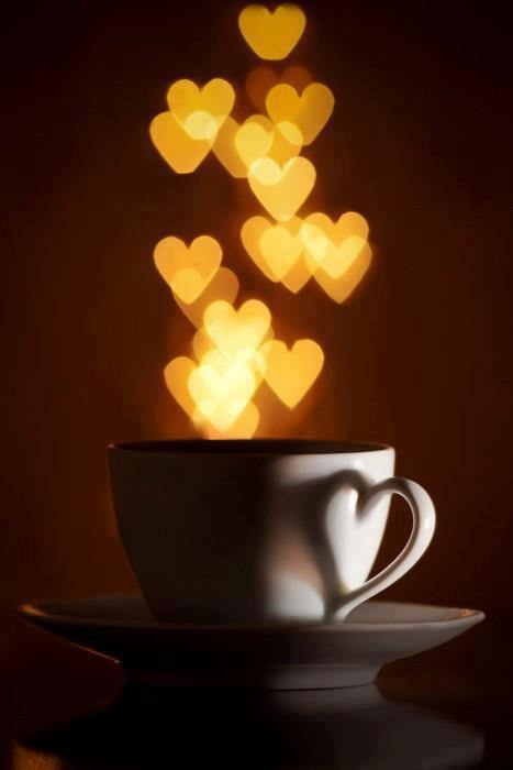 Coffee Cup Heart Hearts Image 697723 On