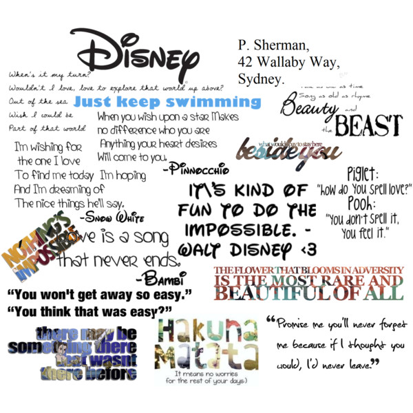 quotes about disney quotesgram