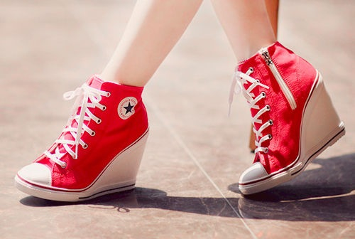 Converse Shoes For Girls With Heels
