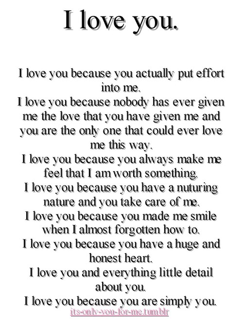 For Him I Love You Quotes : Love You Quotes For Him quotes.lol-rofl.com