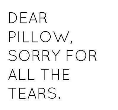 cry, pillow, quotes, sad - image #714034 on Favim.com