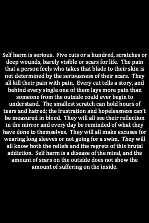 sad quotes about cutting - photo #34