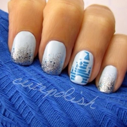 disney, disney nails, disney world, disneyland - image ...