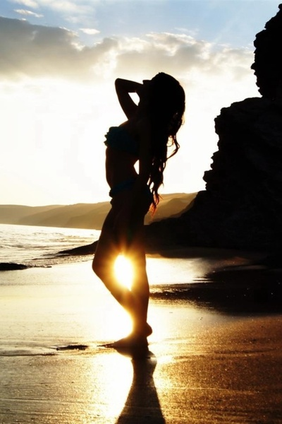 Dream, beach, beautiful, girl