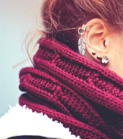 ear, ear piercing, earrings, fashion