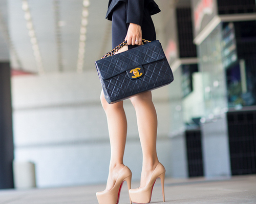 bag, body, brown, chanel, christian louboutin, coco, coco chanel, dress, elle, fashion, gold, healthy, heels, high, high heels, legs, loboutin, louboutins, luxury, queen, ring, shopaholic, skinny, skirt, swarovski, text, tumblr, vogue, walking, woman