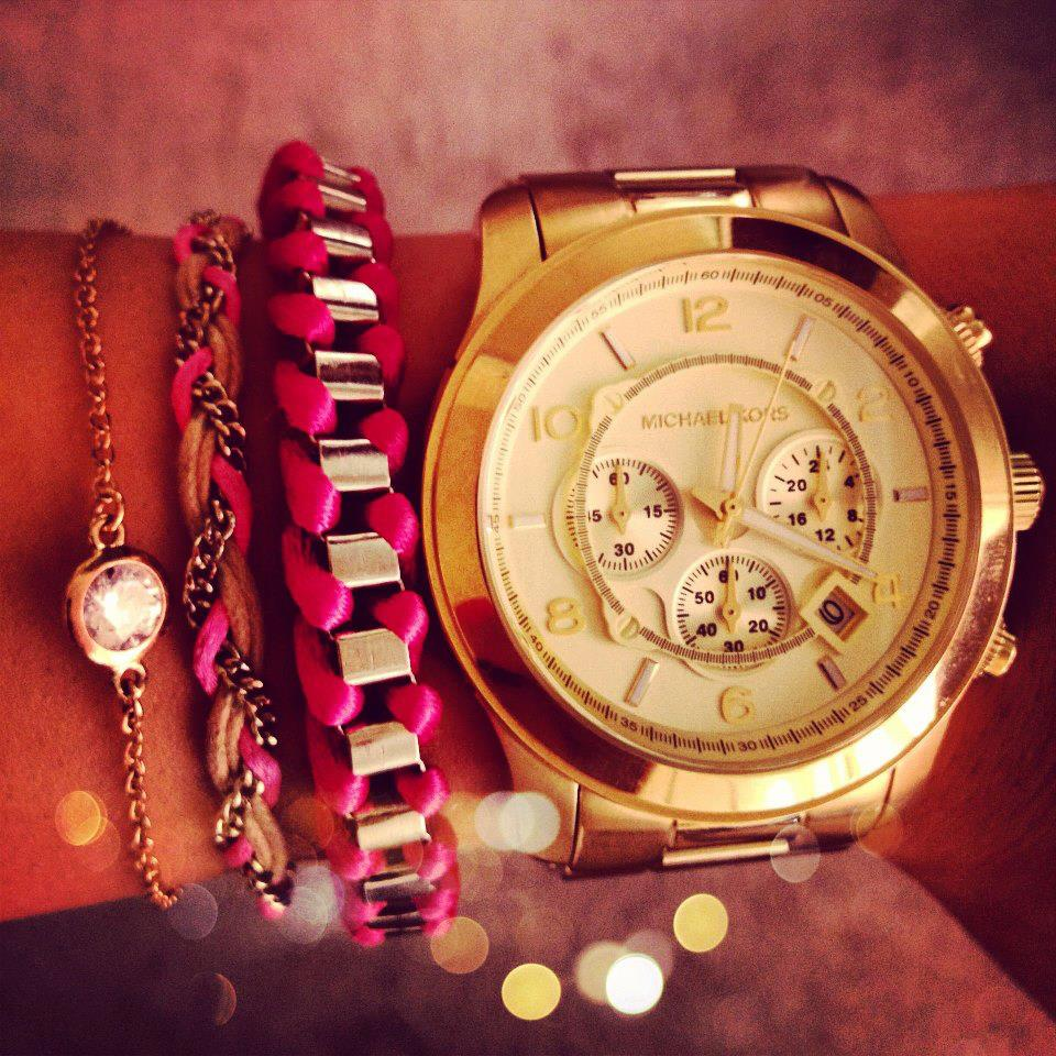 Girls Gold Watch Images