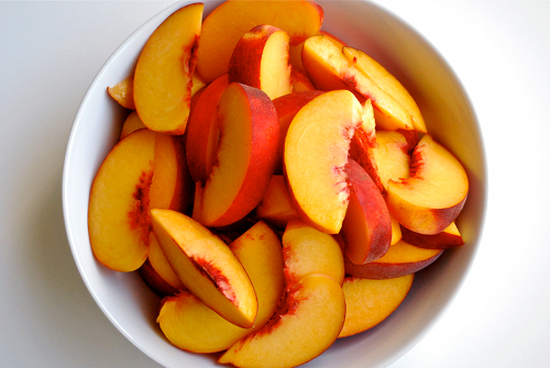 food, fruit, healthy food, peach