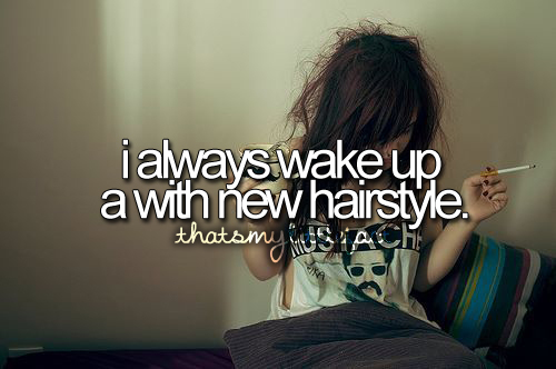 Hairstyle Quotes : quote, hair, hairstyle, hilarious, lol, make me laugh, quote, quotes ...
