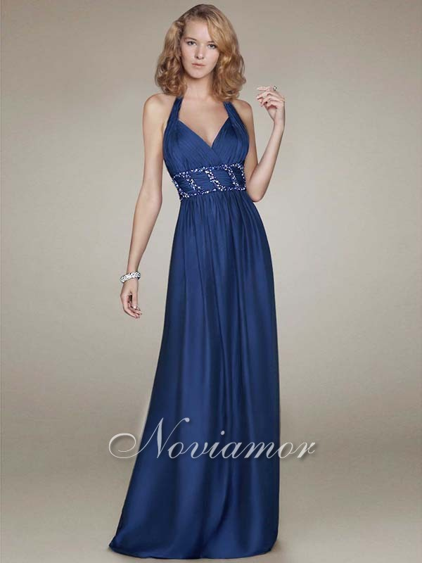 Long dresses 2013 blue
