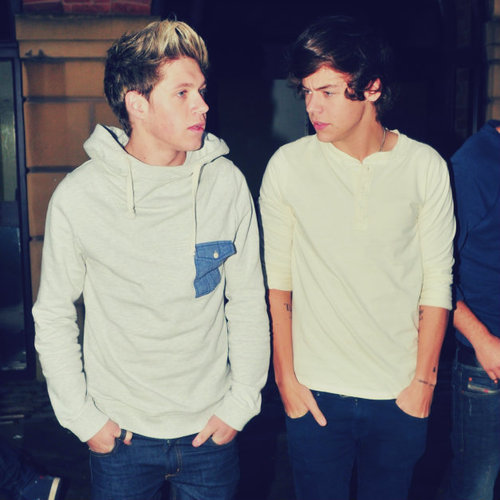 Harry Styles Niall Horan One Direction Image 690927