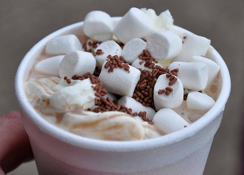 chocolate, coffee, drink, food, hot, hot chocolate, marshmallows ...