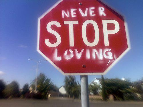 Feel feelings i love you love loving never stop