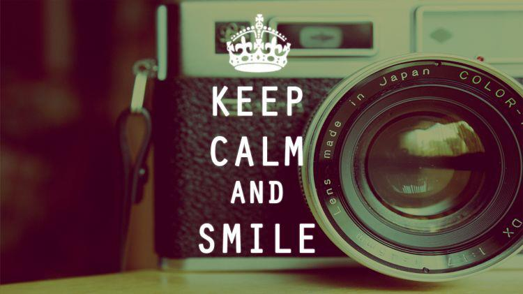 keep calm and  perfect  smile - inspiring picture on Favim comKeep Calm And Smile