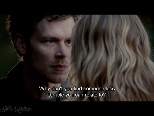 vampire diaries love quotes klaus - photo #4