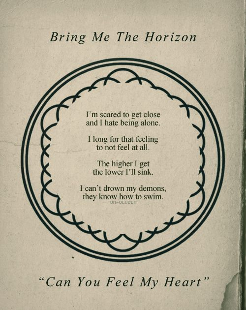 lyrics bmth bring me the horizon can you image