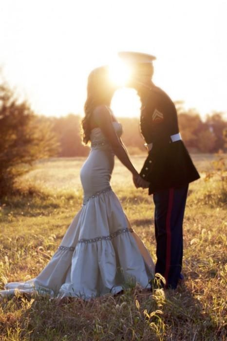 Military wedding wedding wedding dress wedding gown for Free wedding dresses for military brides