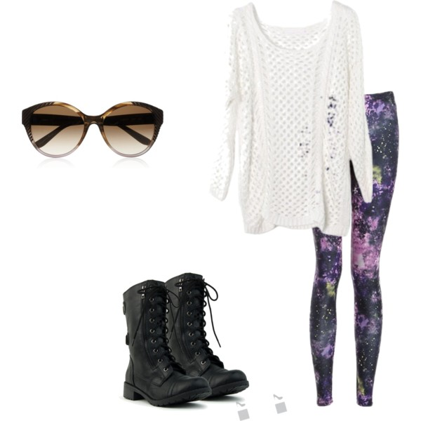 polyvore, boots, combat boots, fashion - image #691073 on ...