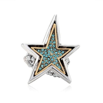 antique star rings, crystal star rings, gold star rings and punk ring