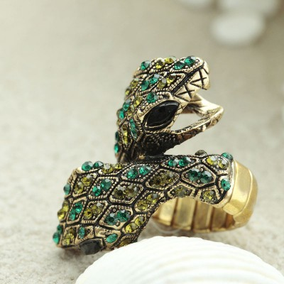 cocktail serpent rings, cocktail snake rings, double snake rings and gold serpent rings