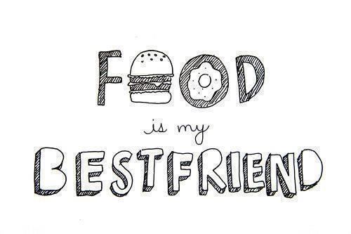 Best friend black and white food hipster image 748085 on favim