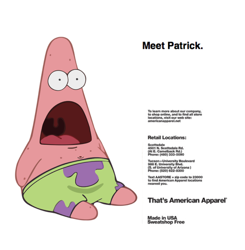 patrick says meme template patrick star once upon a time spongebob ...